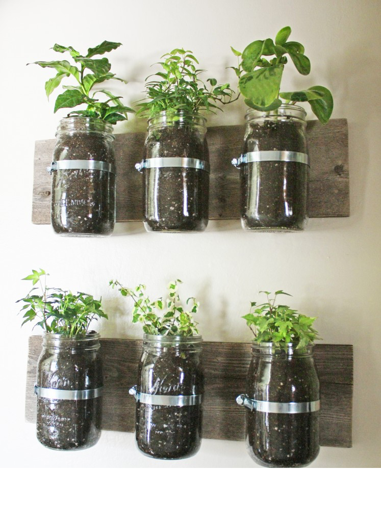 Repurpose Mason Jar In Bathroom